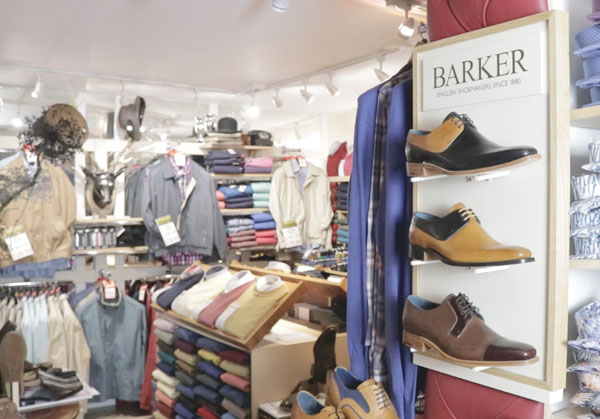 Barker Shoes, Shirts, Jackets